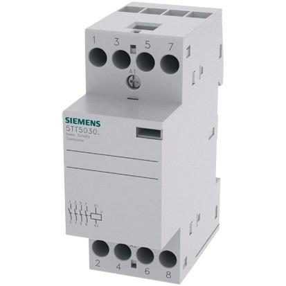 SIEMENS Insta-Schütz 4S 25A/230VAC Spule:230VAC/220VDC