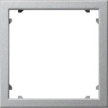 GIRA 028326 Adapterrahmen 45x45 quadratisch Sys55 alu