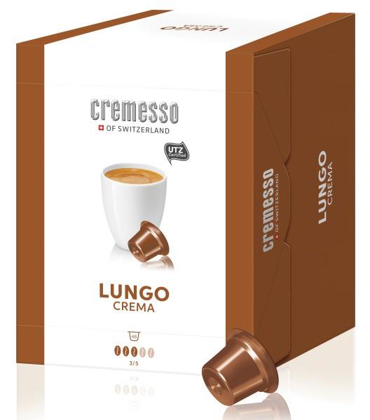 CREMESSO LUNGO CREMA BOX 48ER Kaffeekapsel Lungo Crema cremig aromatisch