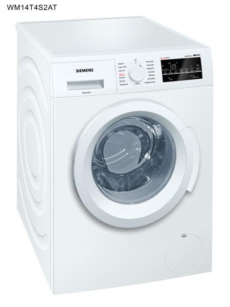 SIEMENS BSHG WM14T4S2AT Waschmaschine 1400U/min 8kg Disp. AqSt. A+++-AB ws