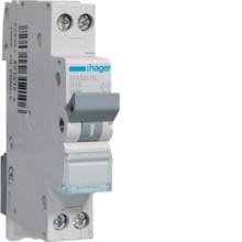 HAGER MKN516 LS-Schalter 16A/1pol+N/B 6kA,1TE