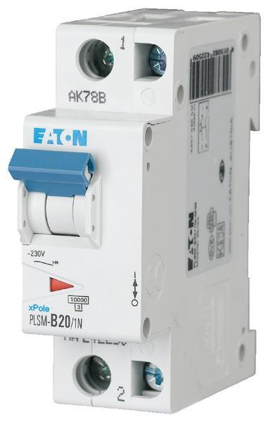 EATON LS-Schalter 20A/1pol+N/C
