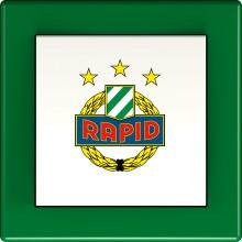 HAGER WYF6114SCR SK Rapid Wien Lichtschalter