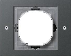 GIRA 021167 Rahmen 1-fach, TX_44, ant