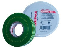 CELLPACK E235 0,18X19X20 GG Premio Klebeband Typ 235, grün-gelb