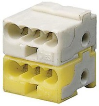 ABB GHQ6301902R0001 KLEMME KNX Klemme weiß/gelb
