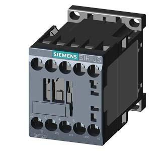 SIEMENS Schütz AC-3:3kW 230VAC 3P 1S S00 50/60Hz Schraub