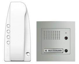 BTICINO 313311 t Audio Sprint-Sfera Alu