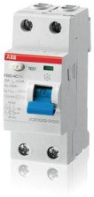 ABB ASelektiver- FI-Schalter F202A-100/0,03 AP-R