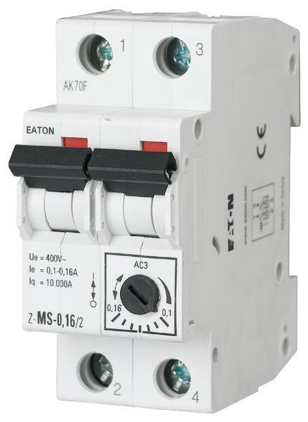 EATON Motorschutzschalter 1,60-2,50A 2TE