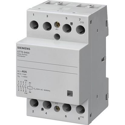 SIEMENS Insta-Schütz 4S 40A/230,400VAC Spule:230VAC