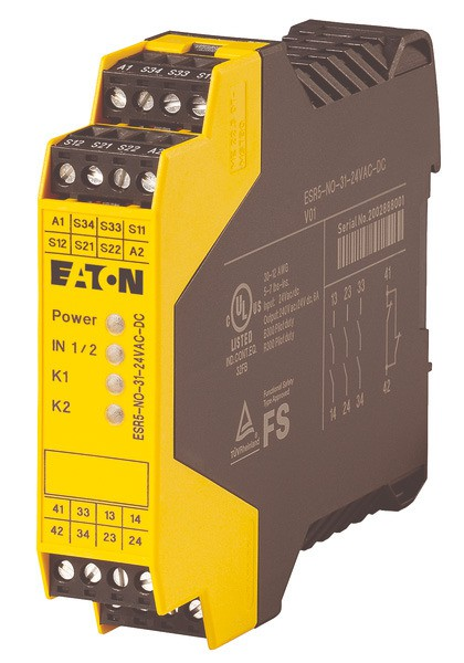 EATON Sicherheitsrelais Not-Aus 24VAC/DC ESR5-NO-31-24VAC-DC
