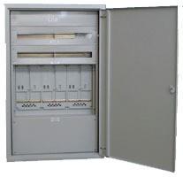 MEHLER UMZV1-N11/TN Zählerverteiler UP,1ZP,3x12TE,EVN,B375xH1230xT245mm