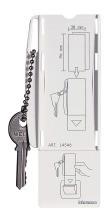 BTICINO L4546 Karten-Schluesselhalter LL