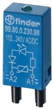 FINDER 99.80.0.230.98 Led Anzeige+Varistor 110-230V