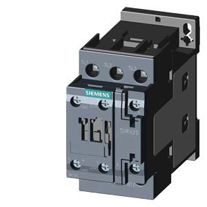 SIEMENS Schütz AC-3:5,5kW 230VAC 3P 1S+1O S0 50Hz Schraub
