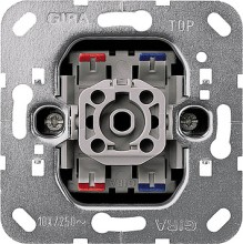 GIRA 011200 Wippschalter Aus 2pol Kontroll Einsatz