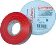 CELLPACK E235 0,18X19X20 RT Premio Klebeband Typ 235, rot