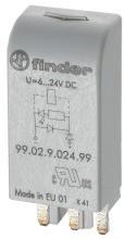 FINDER 99.02.0.230.98 Led Anzeige+Varistor 6-24VDC