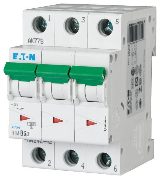 EATON LS-Schalter 6A/3pol/C