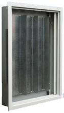 MEHLER UFM-5C/MO UP-Rangierverteiler+Montageplatte Mischenm.B750xH1365xT110mm