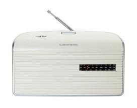 GRUNDIG MUSIC 60 WS/SI Radio,0.75W,UKW/MW,Netz/Batterie,weiss-s