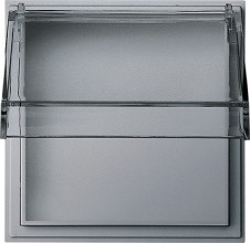 GIRA 040965 Adapterrahmen transparenter KD TX_44 alu