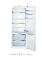 BOSCH BSHG KIF51AF30 Einbaukühlschrank,int.,Cooler,0G,222L.,A