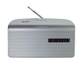 GRUNDIG MUSIC 60 SILBER Radio,0.75W,UKW/MW,Netz/Batterie,silber