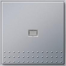 GIRA 012265 Tast-Kontrollschalter 2-Pol, TX_44, alu