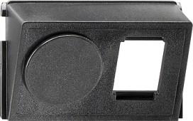 GIRA 005300 Einsatz Datenhaube AMP 2fach Zub.