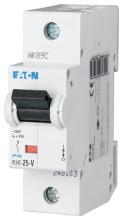 EATON PLHT-C25-V LS-Schalter 25A/1pol/C 25KA, V-Sondertyp