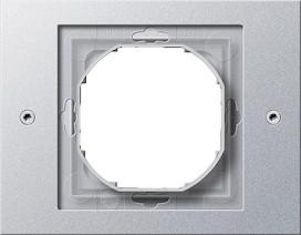 GIRA 021165 Rahmen 1-fach, TX_44, alu