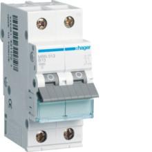 HAGER MBN513 LS-Schalter 13A/1pol+N/B 6kA