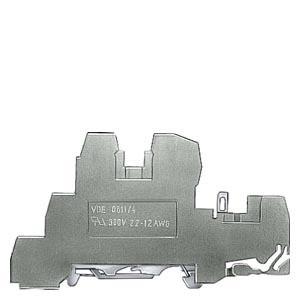 SIEMENS LV 50Stk Installations-Reihenklemme 2,5mm² 6mm PE,L,N