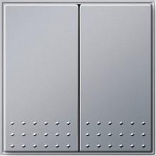 GIRA 012565 Tast-Serienschalter, TX_44, alu