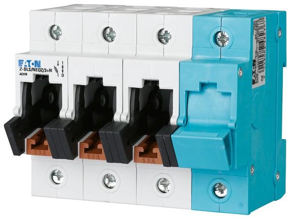 EATON Neozed-Lasttrennschalter D02/D01 63A 3P+N 6TE