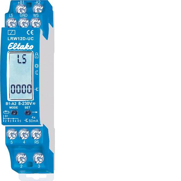 EATON Licht-Daemmerungs-Regen-Wind-Sensorrelais,50mA/8-230VAC/DC