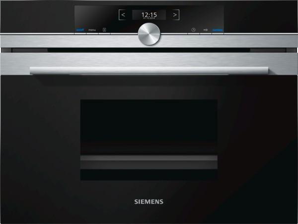 SIEMENS BSHG CD634GBS Kompaktdampfgarer