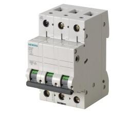 SIEMENS LV LS-Schalter 6kA 3-pol C16