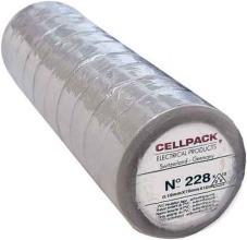 CELLPACK E228 0.19-19-20 GR PVC-Isolierband, grau
