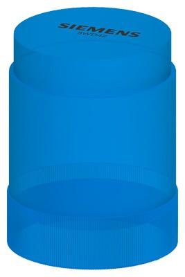 SIEMENS Dauerlichtelement mit Integrierter Led, Blau, Ac/Dc 24V
