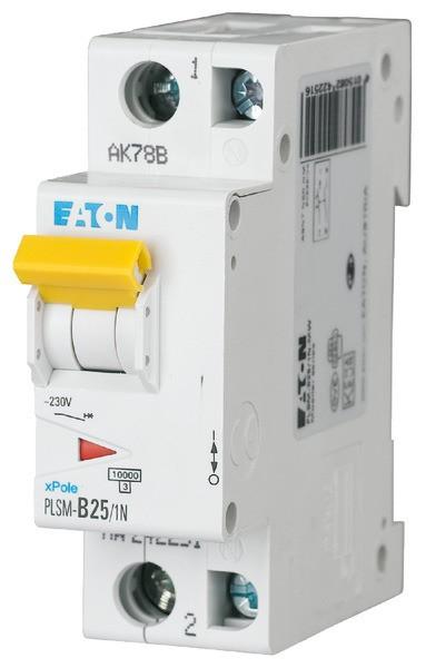 EATON PLSM-C25/1N-MW LS-Schalter 25A/1pol+N/C