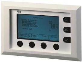 ABB GHQ6050059R0005 MT701.2ws Melde-u.Bedientab.