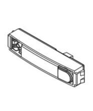 FERMAX FPVT09608 Cityline Einfachtaster 12x54mmTaster verchromt, Led bel.