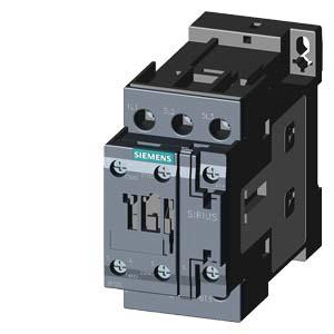 SIEMENS Schütz AC-3:15kW 24VDC 3P 1S+1O S0 Schraub