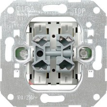 GIRA 015500 Wipptaster Wechsel/Wechsel Einsatz