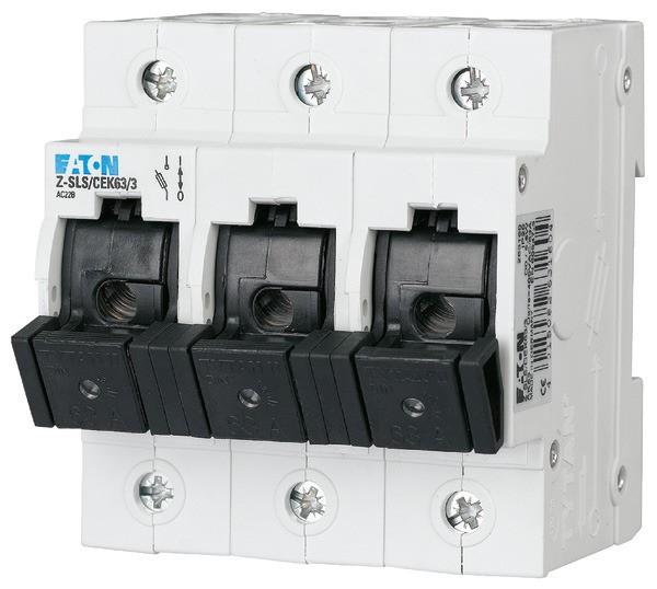 EATON Neozed-Lasttrennschalter D02/D01 35A 3P, kodiert 4,5TE