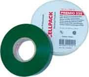 CELLPACK E235 0,18X19X20 GN Premio Klebeband Typ 235, grün