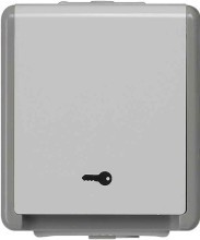 SIEMENS LP 5TA7650 Delta Flaeche Jalousie-Schlüsselschalter AP